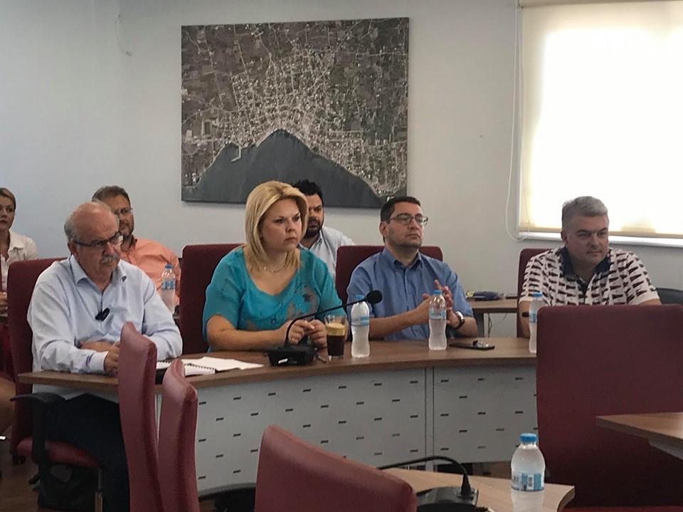Στην Τακτική Γενική Συνέλευση του Περιφερειακού ΦοΔΣΑ Περιφέρειας Στερεάς Ελλάδας ΑΕ η νέα Δήμαρχος Δήμου Χαλκιδέων, Έλενα Βάκα